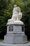 Bataille de monument de Heiligerlee à Groningue, Hollande Images libres de droits