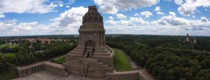 Bataille de monument de nations à Leipzig, Allemagne photo stock