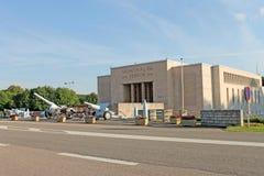 Bataille de musée commémoratif de Verdun, France photographie stock libre de droits