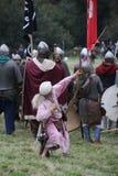 Bataille de reconstitution de Hastings images libres de droits