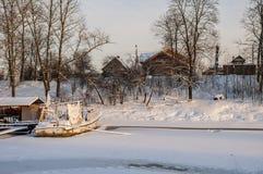 Bataille de site historique de Neva July 15, 1240 photo libre de droits