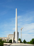 Bataille de Stalingrad de panorama de musée photographie stock