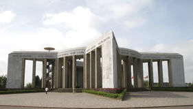 Bataille du Saillant le mémorial Photographie stock libre de droits