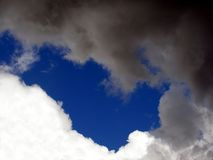 Bataille/guerre dans le ciel Photos libres de droits