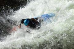 Bataille sur le fleuve faisant rage Photographie stock libre de droits
