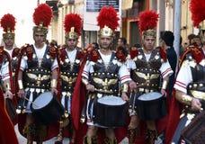 Bataillon romain Image stock