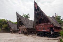 Batak房子。 免版税库存图片