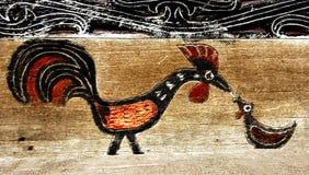 batak房子装饰品s苏门答腊 库存照片