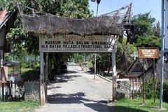 Batak村庄 免版税库存图片