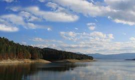 Batak水坝在保加利亚 免版税库存照片