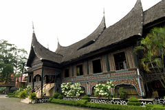 batak ύφος minangkabau σπιτιών στοκ εικόνες με δικαίωμα ελεύθερης χρήσης