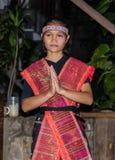 Batak dancers in Sumatra, Indonesia Stock Image