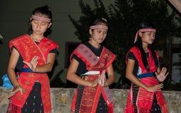 Batak dancers in Sumatra, Indonesia Royalty Free Stock Image
