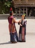 Batak dans i Sumatra, Indonesien Royaltyfri Fotografi