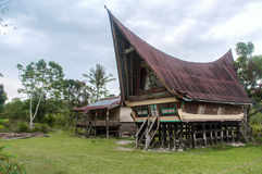 Batak dom. Obrazy Royalty Free
