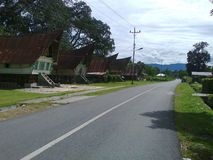 Batak-Haus Stockfoto
