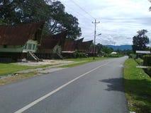 Batak House stock photo