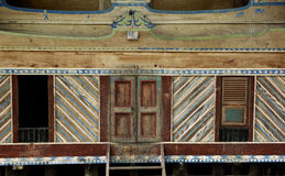 Batak house in Sumatra Royalty Free Stock Image