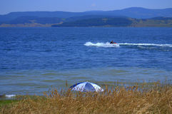 Batak jeziora widok Zdjęcie Royalty Free