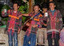 Batak singers in Sumatra, Indonesia Royalty Free Stock Images