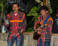 Batak singers in Sumatra, Indonesia Stock Images