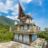 Batak tomb on the Samosir island near lake Toba Stock Photos