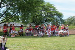 Batala At The 2015 Figment Festival 2 Stock Image