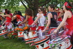 Batala At The 2015 Figment Festival 22 Royalty Free Stock Image