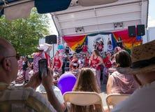 Batala NYC på Rockland County stolthet Royaltyfri Foto
