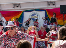 Batala NYC at Rockland County Pride Stock Images