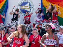 Batala NYC at Rockland County Pride Royalty Free Stock Photo
