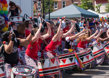 Batala NYC at Rockland County Pride Royalty Free Stock Photos