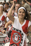 Batala performing at Notting Hill Carnival Stock Photography