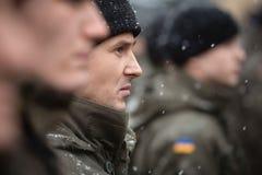 Batalhão de nomeações operacionais da guarda nacional Fotos de Stock