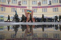 Batalhão de nomeações operacionais da guarda nacional Foto de Stock Royalty Free