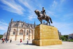 Batalha的修道院,葡萄牙 免版税库存照片