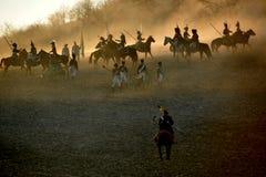 A batalha Imagem de Stock Royalty Free