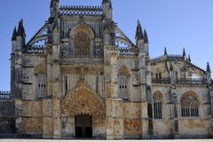 Batalha Abbey Royalty Free Stock Photo