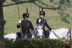 Batalha da celebração de Montebello Fotos de Stock Royalty Free