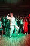 Batalha da dança Foto de Stock Royalty Free