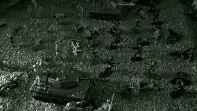 A batalha da segunda guerra mundial, os russos que lutam os alem?es, o ataque de soldados do russo e tanques contra as tropas ale imagens de stock