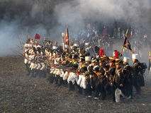 Batalha de Austerlitz Imagens de Stock