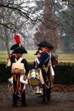 A batalha de Austerlitz Foto de Stock