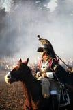 A batalha de Austerlitz, igualmente conhecida como a batalha dos três imperadores, era uma das grandes vitórias de Napoleon, onde Fotografia de Stock Royalty Free