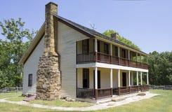 Batalha de Elkhorn Taven da ervilha Ridge Arkansas Fotografia de Stock Royalty Free