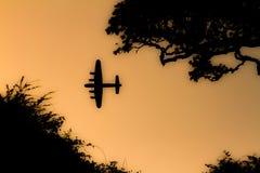 Batalha de Grâ Bretanha B-17 imagem de stock royalty free