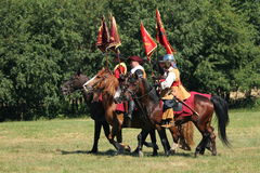 Batalha de Tornavento Fotografia de Stock Royalty Free
