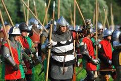 Batalha de Trecentesca Fotografia de Stock Royalty Free