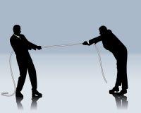Batalha do competidor Fotografia de Stock Royalty Free