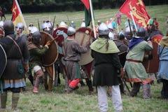 Batalha do Reenactment de Hastings imagem de stock